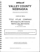 Title Page, Valley County 1985
